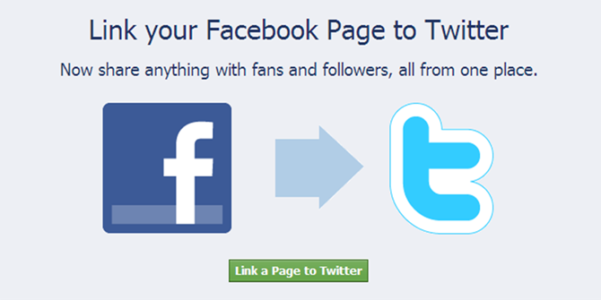 Connecting Facebook with Twitter