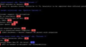 Cum sa verifici daca serverul Linux este vulnerabil la Spectre si Meltdown